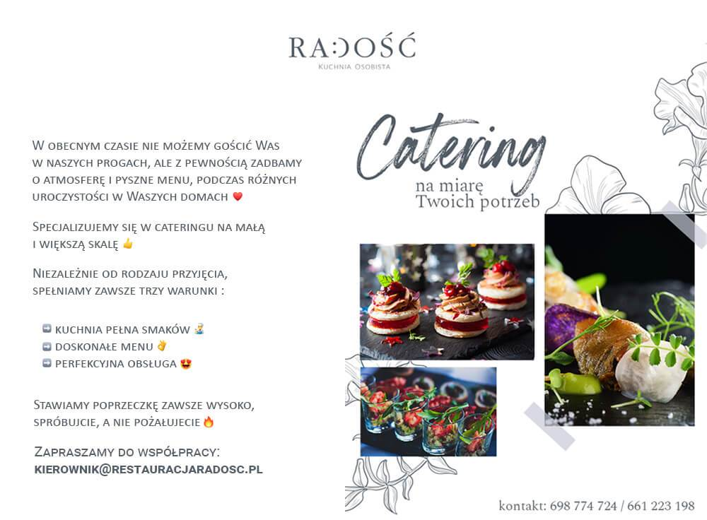 Catering popup